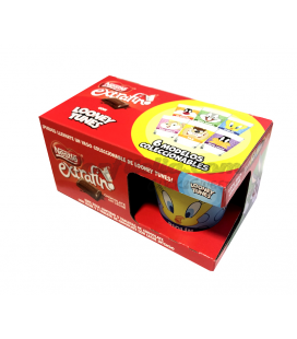 Pack tabletas Nestle + Vaso Looney Tunes