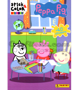 Stick & Color Peppa Pig n. 73 de Panini