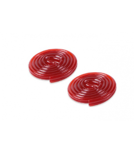 Liquorice Discs strawberry Fini