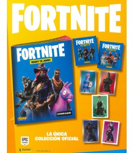 Pack lanzamiento Fortnite 2020 de Panini