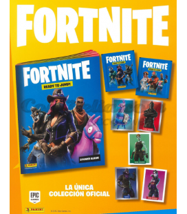 Coleccion Fortnite 2020 de Panini