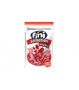Regaliz Sensation Red Mix Fini 180 g