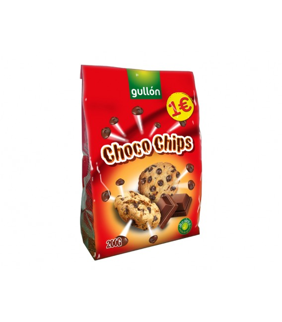 Galletas Chocochips Gullon 200 g
