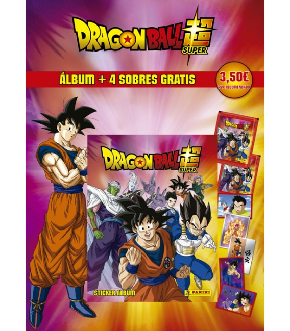 Dragon Ball Super 2 Panini launch pack
