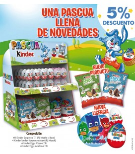 Easter special Kinder chocolate pack
