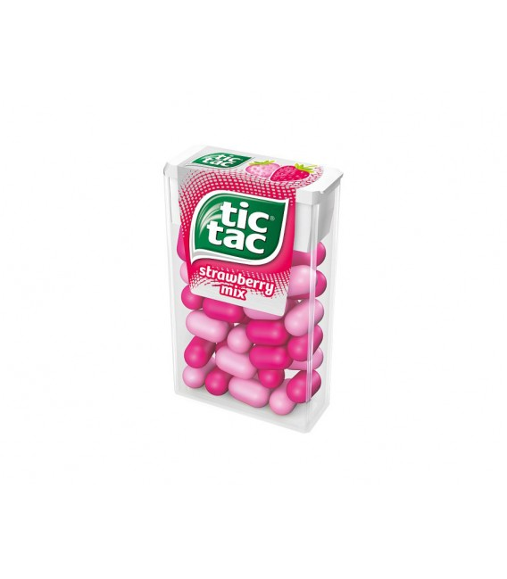 Tic Tac strawberry candy