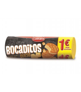 Cheese Bocaditos snacks Cuetara 125 g