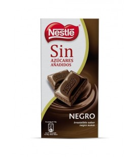 Chocolate Negro sin azucar Nestle