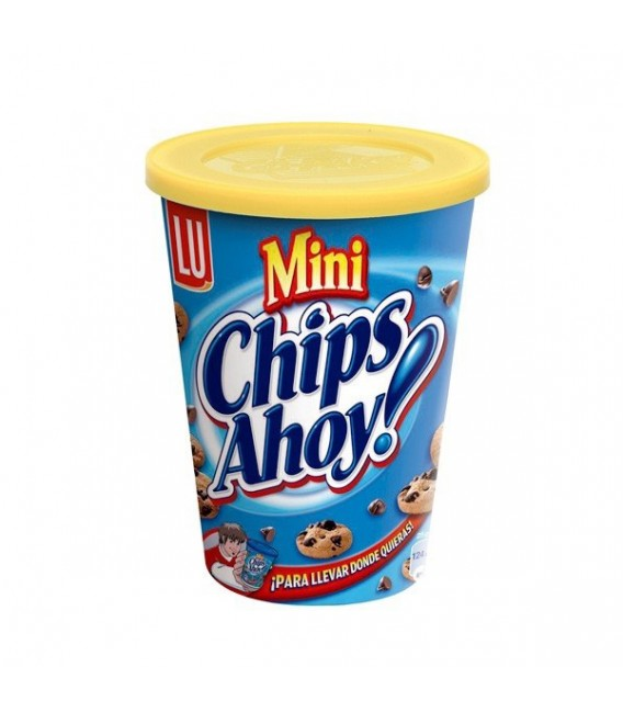 Galletas Mini Chips Ahoi vaso 120 g