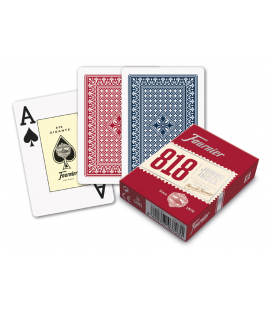 Poker Nr. 818 deck of cards Fournier