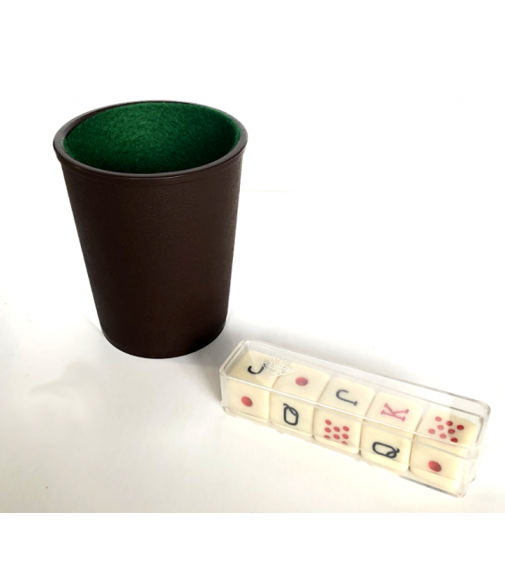 Poker Dice game pack