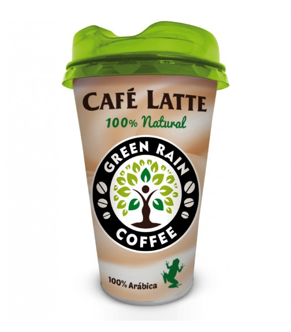 Cafe Latte Green Rain