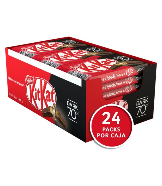 Kit Kat Dark 70% bars 41,5 g
