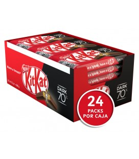 Barritas Kit Kat Dark 70% 41,5 g