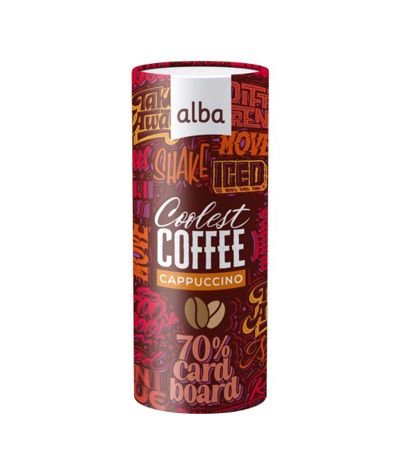 Cappuccino Coffee drink by Alba