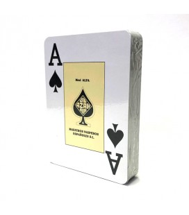 Baraja Poker Ingles Alfa 54 cartas