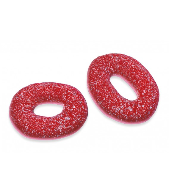 Strawberry Rings gummy jellies