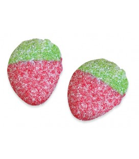Wild Strawberry sour gummy jellies