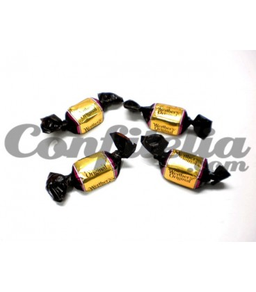 Caramelo Werther's con chocolate granel