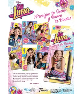 Soy Luna Founier deck of cards