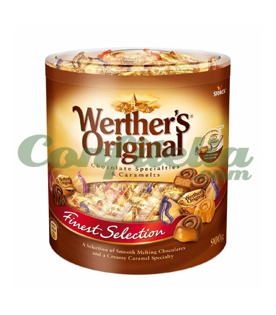 Especialidad Werther's chocolate y caramelo