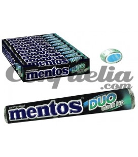 Caramelo Mentos Duo Black Ice