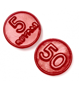 Roypas strawberry liquorice Coins