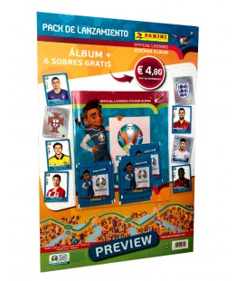 Euro 2020 Preview launch pack Panini