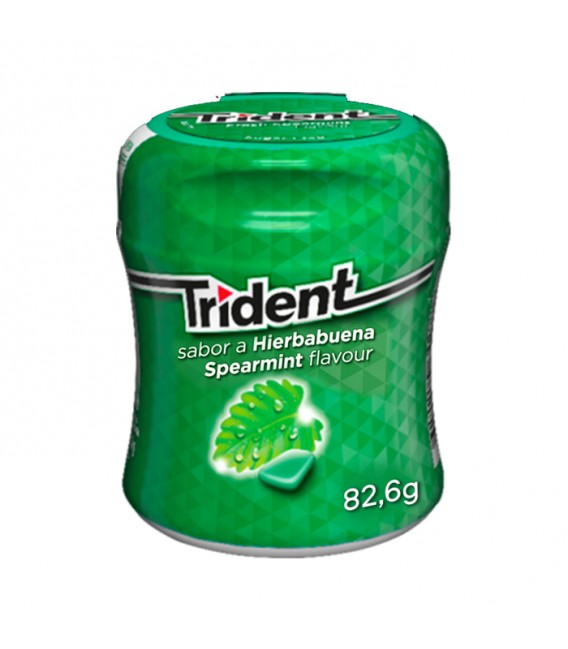 Chicle Trident Box Hierbabuena
