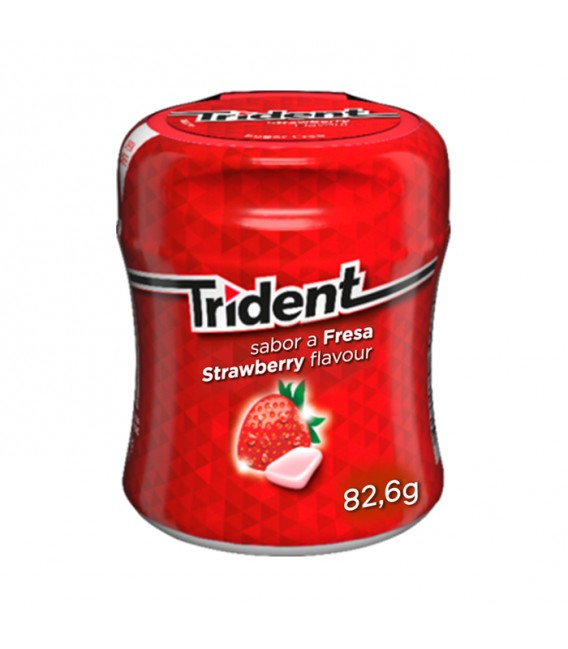 Chewing gum Trident Box strawberry