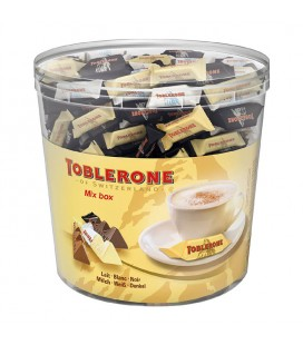 Toblerone Mini Mix cubo