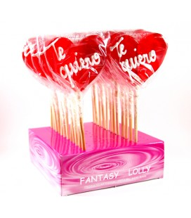 Candy lollipop Heart Te Quiero