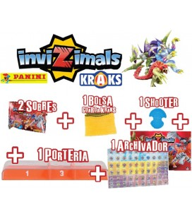 Kraks Invizimals launch pack Panini