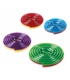 Liquorice discs assorted colors Fini