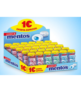 Pack Chicle Mentos Gum