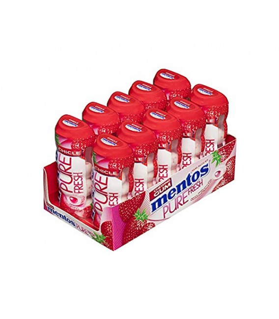 Mentos Gum Pure Strawberry