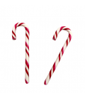 Candy canes Red and White 12 grs