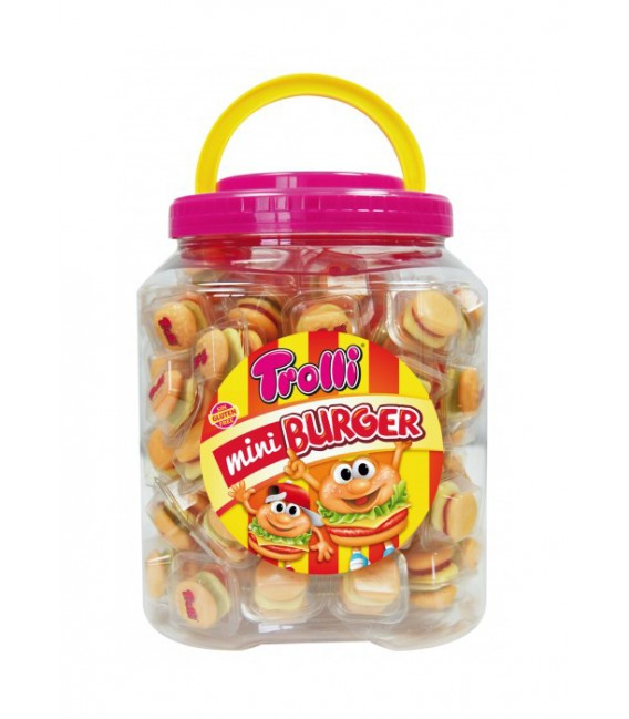 Trolli gummy jelly Mini Burguer