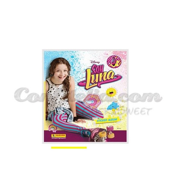 Soy Luna stickers collection of Panini