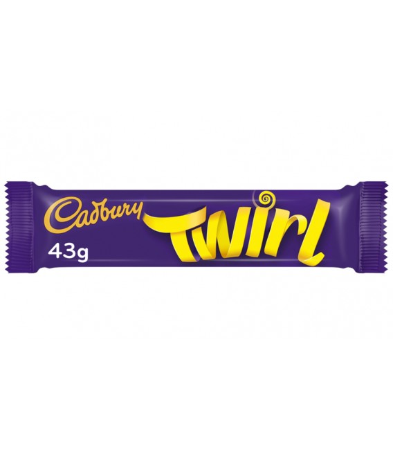 Barritas de chocolate Twirl de Cadbury