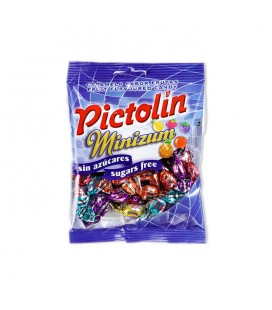 Pictolin's Minizum sugarfree candy