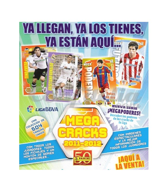Coleccion Mega Cracks 2011-2012 de Panini