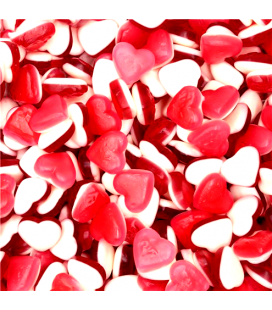 Strawberry Hearts gummy candies