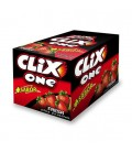 Chicle Clix One fresa sin azúcar