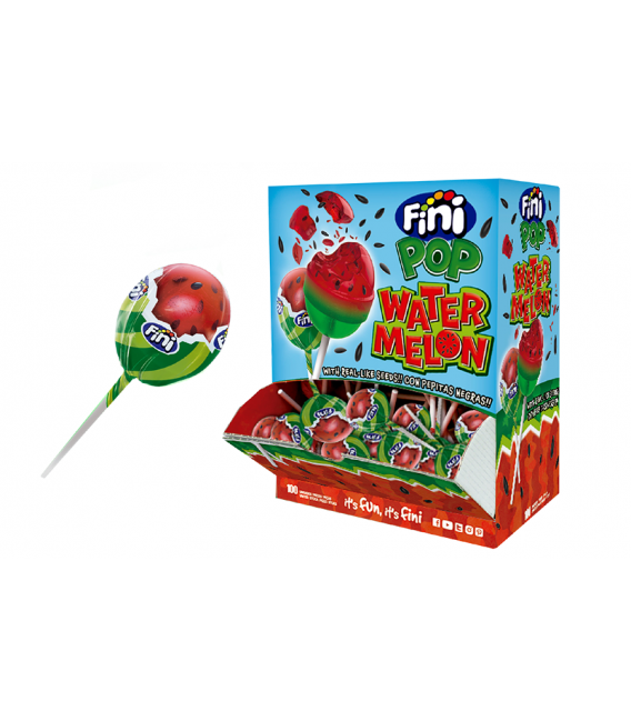 Fini Pop watermelon lollipops