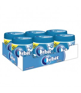 Chewing gum Orbit drageee box peppermint sugarfree
