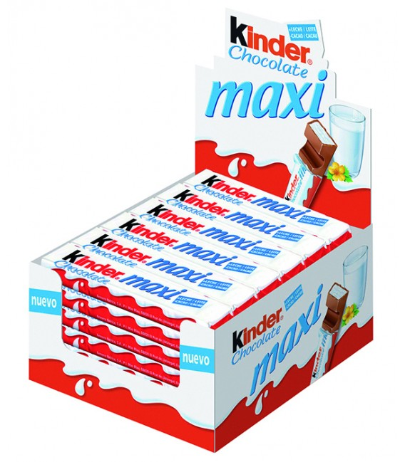 Kinder Maxi chocolate bar