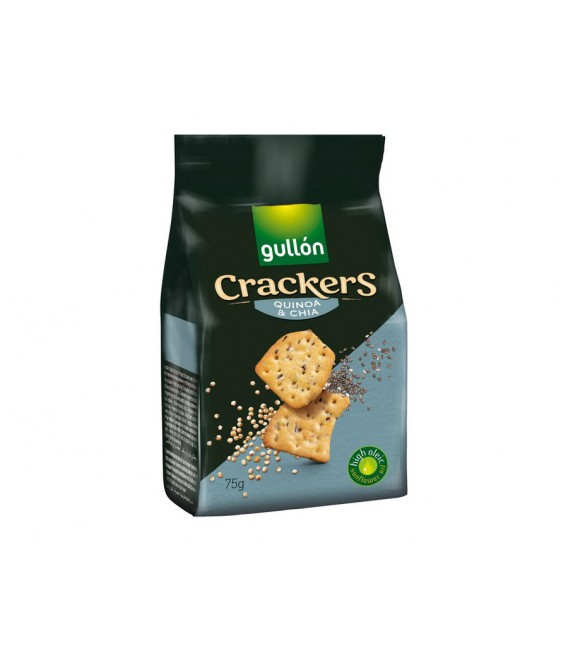 Crackers seeds Gullon 75  g