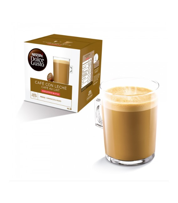 Dolce Gusto Cafe au lait decaffeinated