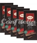 Dark chocolate tablets Valor 100 grs.
